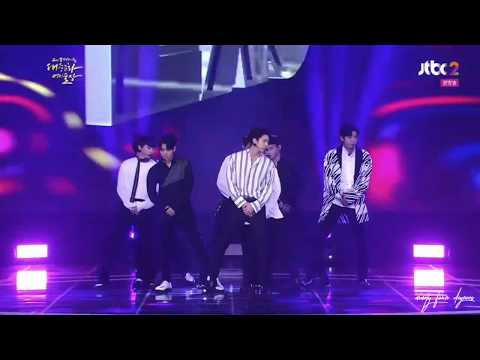 [03.11.17] KOREAN POP CULTURE & ARTS 2017 - EXO all cut + KOKOBOP + PRIME MINISTER AWARD