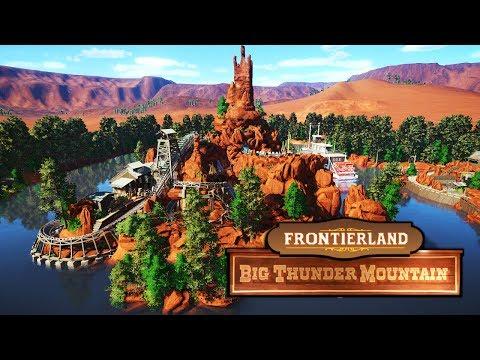 FRONTIERLAND : BIG THUNDER MOUNTAIN - Recreation Spotlight PlanetCoaster