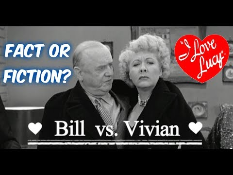 FACT OR FICTION?: Bill Frawley vs. Vivian Vance Feud