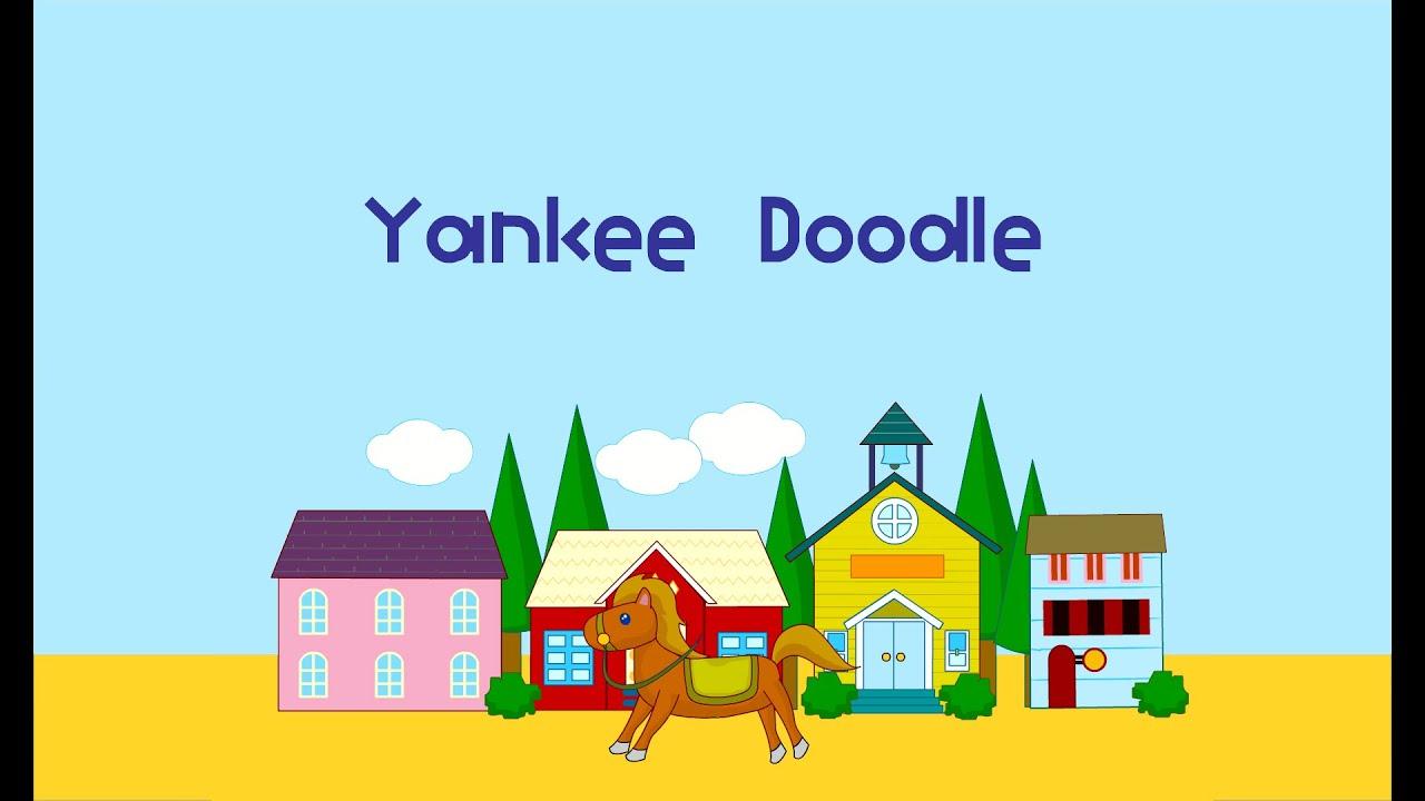 🆕educational For Kids/ YANKEE DOODLE/ Song English For Children Honest Video