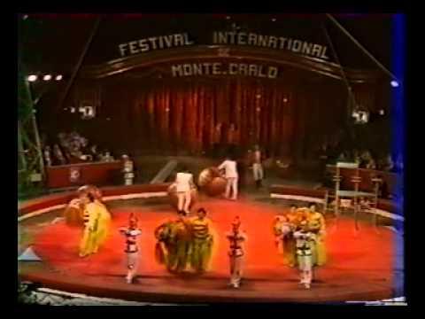 16 international circus fest.  Monaco 1992