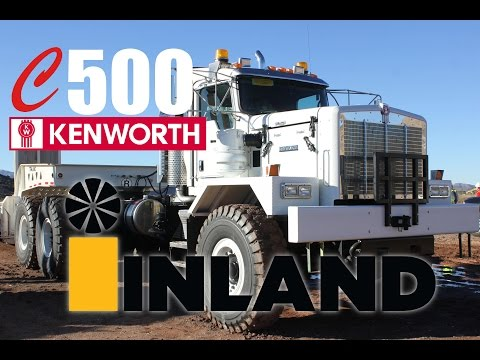 Kenworth C500 To Pinto Valley Copper Mine - Inland Kenworth Of Phoenix