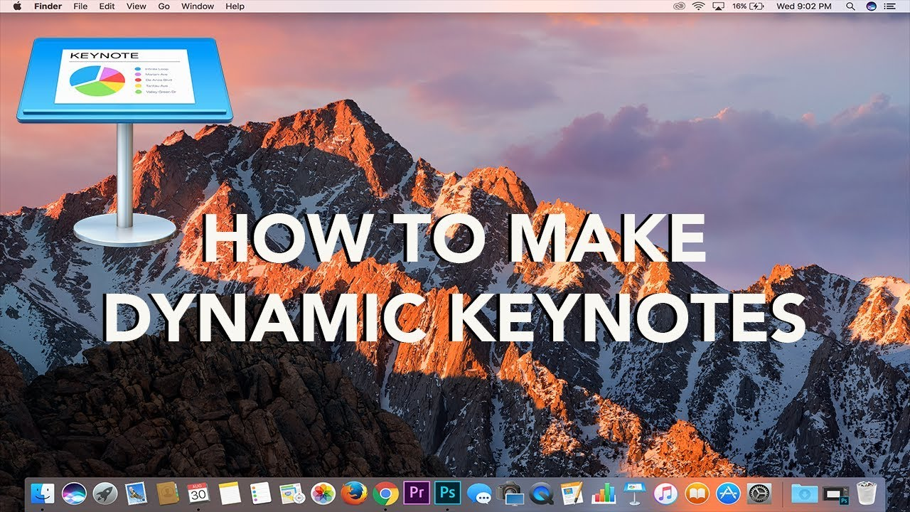Keynote 2016 tutorial for beginners [+general overview]* youtube.