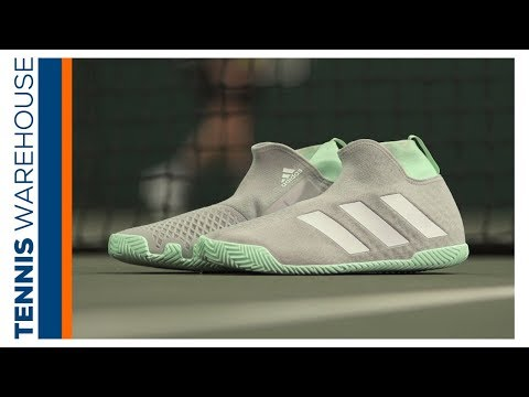 First Impression: Adidas Stycon (the 1st Laceless Tennis Shoe)! 🙌