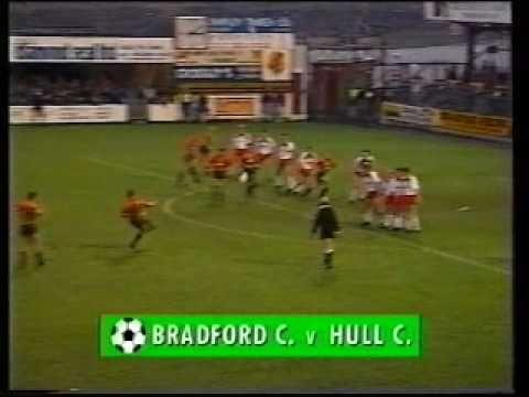 1989/90 Season: Bradford City 2 - 3 Hull City