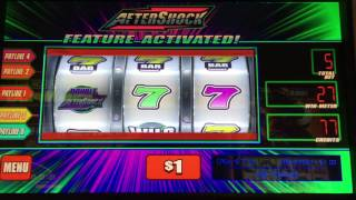 **BONUS** $5/Bet - AFTER SHOCK at Bellagio - Slot Machine