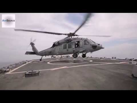 MH60S Sea Hawk Flight Deck Landing/Takeoff