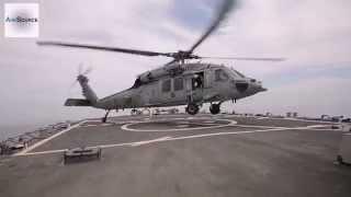 MH60S Sea Hawk Flight Deck Landing/Takeoff