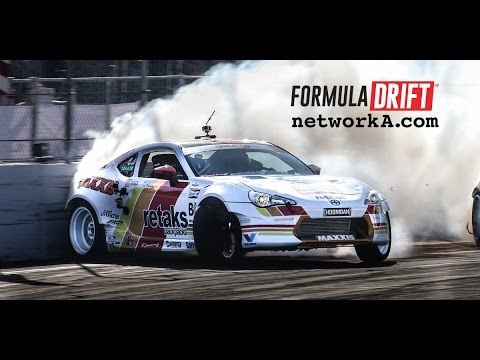 Full Top 32 Round: Formula Drift Long Beach - YouTube