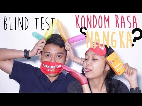 BLIND TEST   TEBAK RASA dan AROMA KONDOM!! by AsmaraKu.com