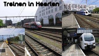 4K | Treinen in Heerlen - KortCompilatie - 12 mei 2018