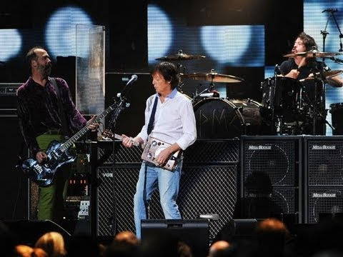Nirvana with Paul McCartney - Cut Me Some Slack HD (Concert Sandy Benefit, 12-12-2012)