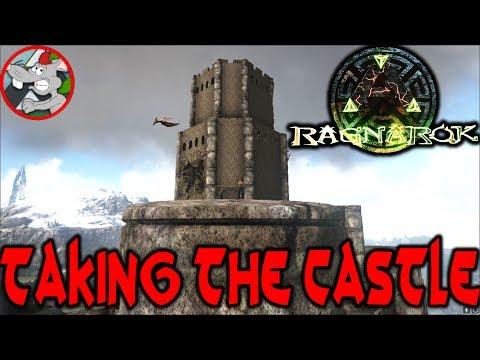 ARK Ragnarok Let's Play #6 The Castle Is Mine Ark Survival evolved