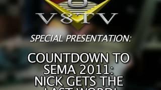 1968 Camaro Countdown to SEMA 2011 V8TV Video:  Be Cool Radiator& Nick's Last Word
