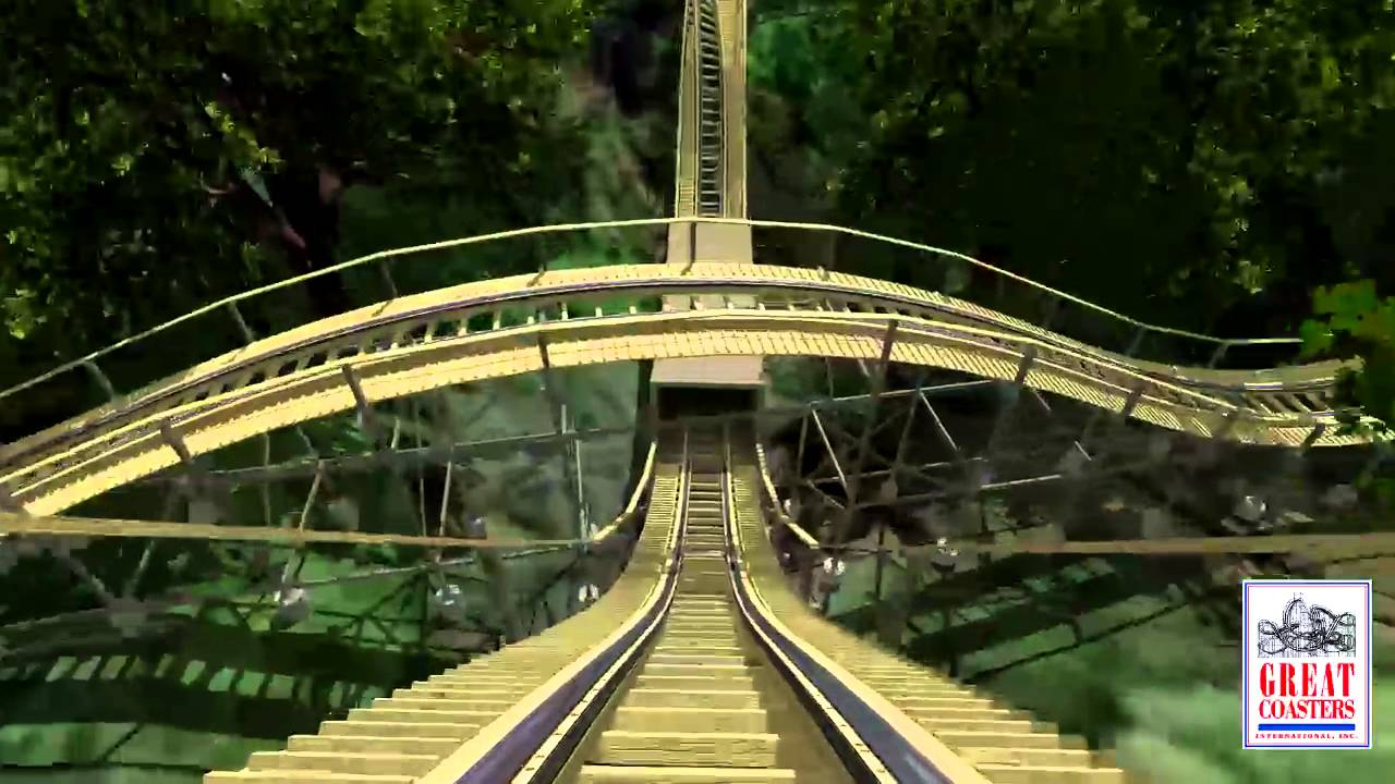 InvadR Point Of View Animation| Roller Coaster POV | Busch Gardens   YouTube