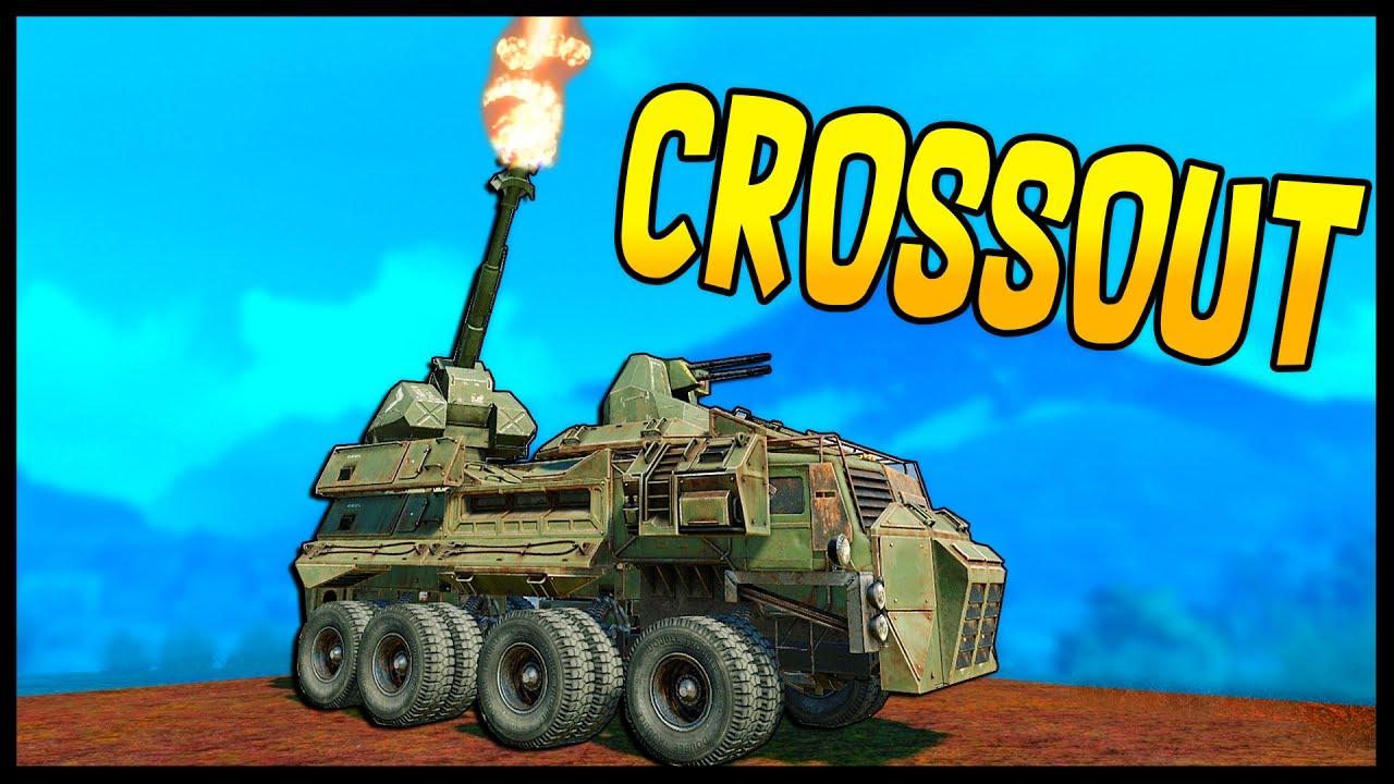 Crossout - ARTILLERY GAMEPLAY! Caucasus & Artillery ...