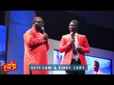 Video (stand-up): Seyi Law & Ambassador Wahala Imitate Patience Jonathan on Stage