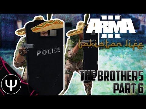 ARMA 3: Takistan Life Mod — The Brothers — Part 6 — Checkpoint Demolished!