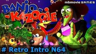 N64 Banjo Kazooie Gameplay Retro Intro Direkt @ Nintendo 64