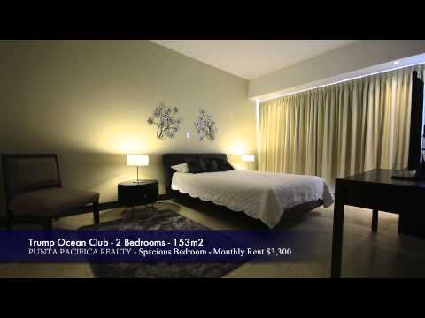 Punta Pacifica Realty - Panama - 2 Bedroom with Great Views in the Trump Ocean Club for Rent