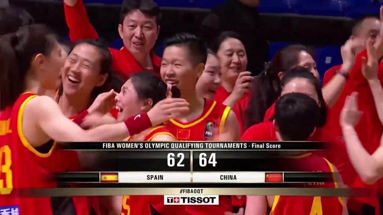 2020 女篮奥运资格赛 中国vs西班牙 全场集锦 Women S Basketball Olympic