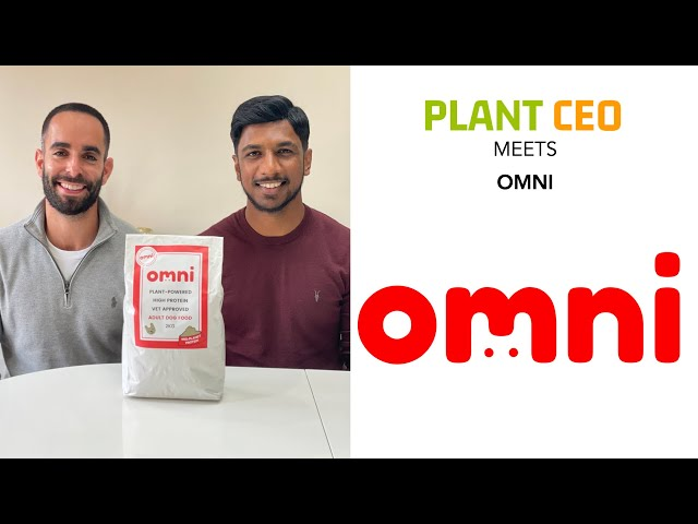 Dogs thriving on Plant Based pet food: omni ||  PLANT CEO #69