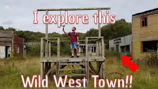 I explore an abandoned Wild West Town in the UK!!