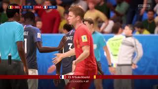 FIFA 18- Semifinálové utkání-Belgie Francie
