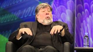 Prof. Alan Brown interviews Steve Wozniak