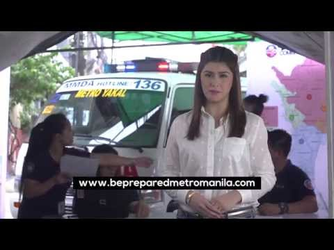 Metro Manila Shake Drill Infomercial (Produced by Claire Delfin Media)