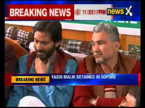 Muhammad Yasin Malik arrested in Sopore