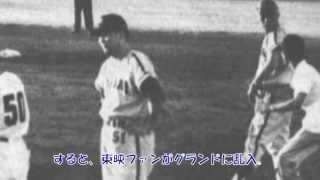 舞台は、昭和36年8月27日、東映フライヤーズ対南海ホークス17回...
