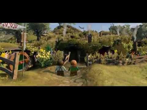 LEGO The Hobbit Gameplay Walkthrough Part 4 : The journey |