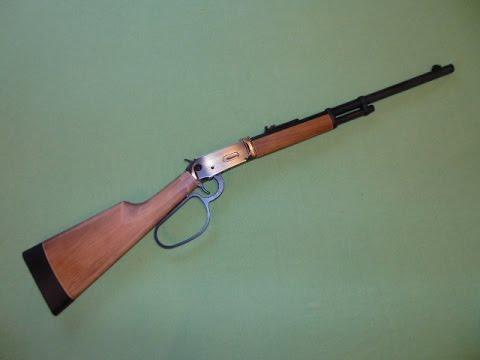 Walther lever action co gewehr schwarz