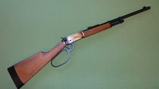 Walther Lever Action Duke CO2 4,5 mm Diabolo - Review und Schusstest