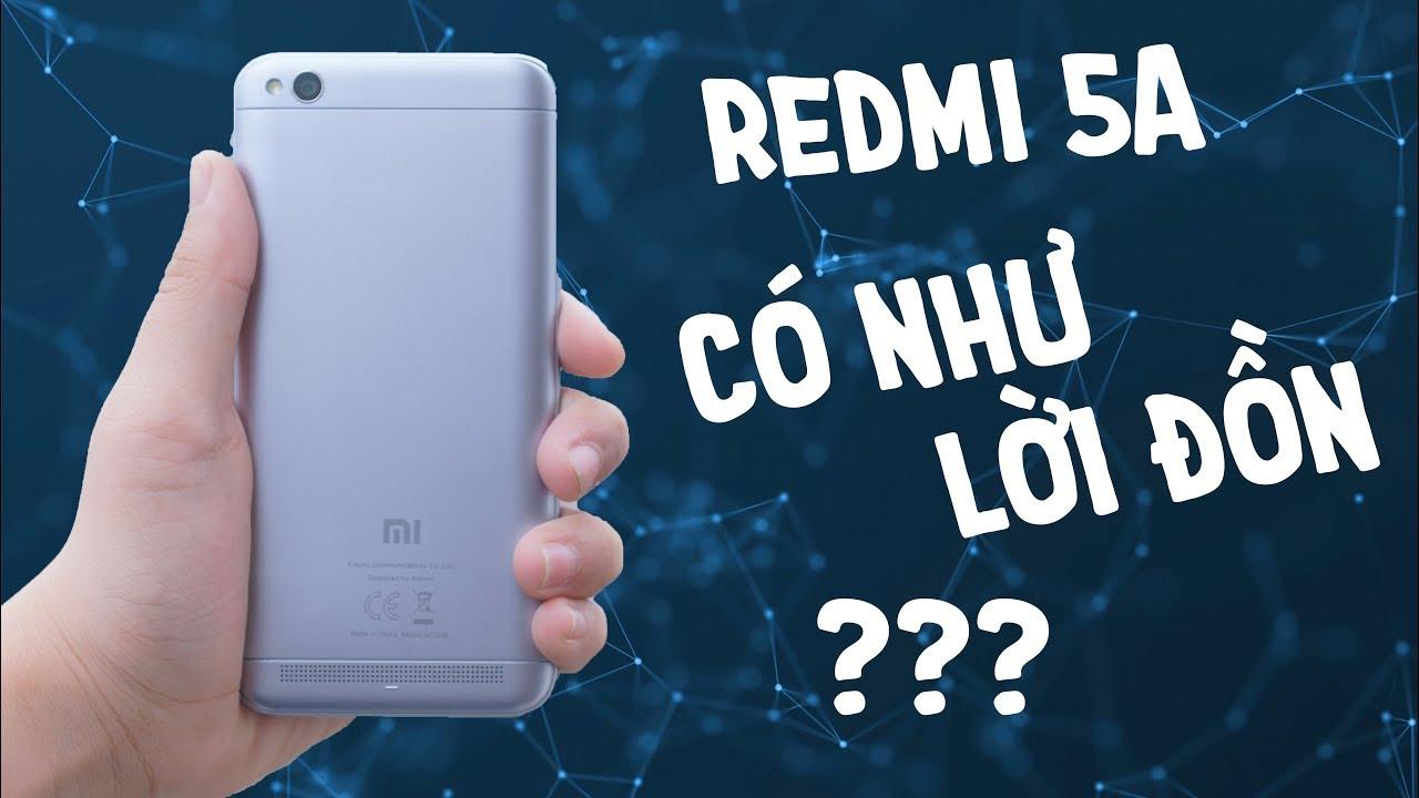 Đánh giá chi tiết Xiaomi Redmi 5A