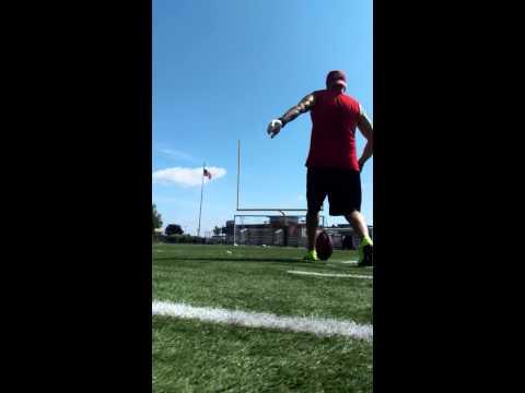 Right side 35 yards- Jim Taylor WPA Wildcatz