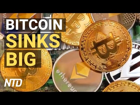 Bitcoin Sinks, Crypto Market Follows; Australia Ends China Infrastructure Projects | NTD Business