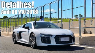 Novo Audi R8 2018 V10 em detalhes - Falando de Carro