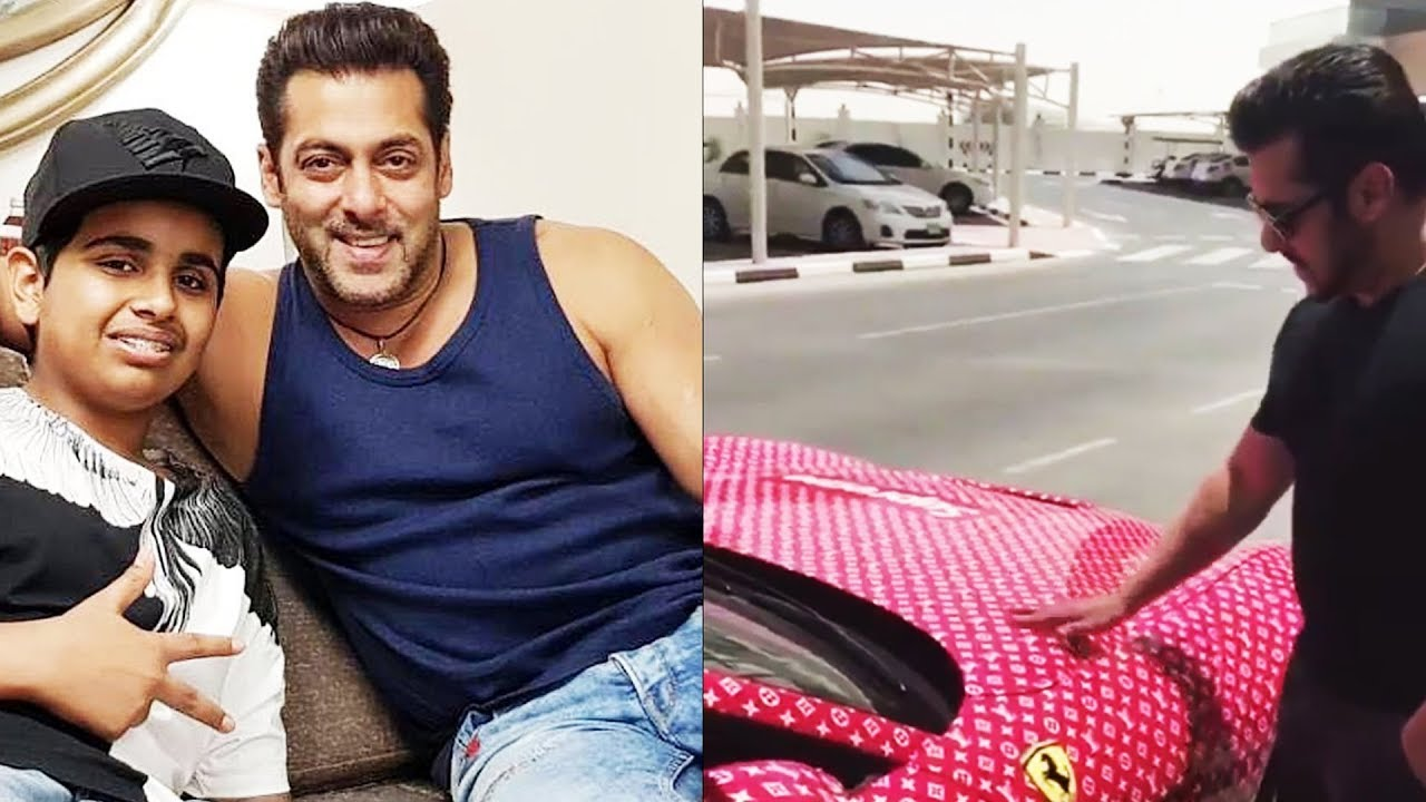 Richest Kid In Dubai >> (Video) Salman With Dubai's Richest Kid Rashed Belhasa ...
