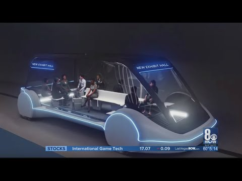 Underground tunnel transit system planned for Las Vegas Convention Center