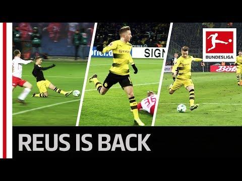 Marco reus scores again - 3 goals in 3 games