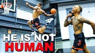 INSANE One Foot Dunks By Pro Dunker Jordan Southerland!! Video