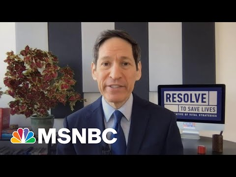 Former CDC Director Explains Drop In Vaccinations Hesitancy Across Country   Stephanie Ruhle   MSNBC