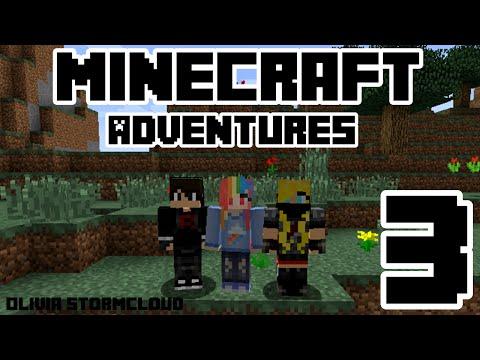 Minecraft Adventures w/ Brooke & Jamie [Ep. 3] - Rescuing Horses