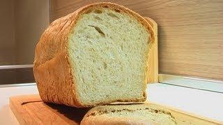 Белый хлеб «Кирпичик» домашний видео рецепт