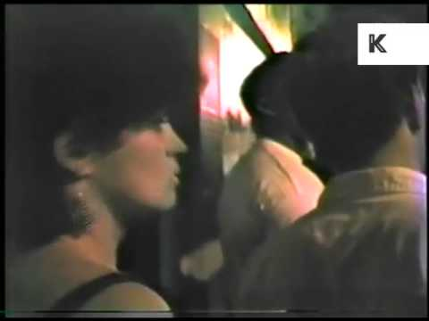 Rare 1980s Club Scene Home Movie, Queueing for Danceteria, New York 1985