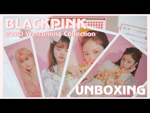 BLACKPINK 2020 Welcoming Collection UNBOXING 블랙핑크 2020 Welcomin Collection 개봉/언박싱