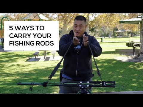 5 Ways to Carry Your Fishing Rods (Travel Bag Reviews)