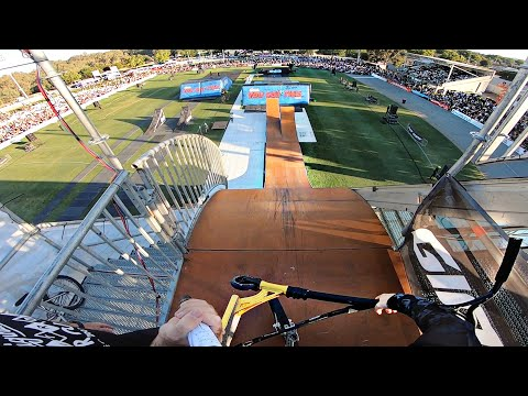 BMX TO SCOOTER TRANSFER AT NITRO CIRCUS!